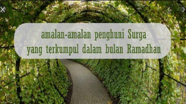 Amalan dan Fadhilah Bulan Ramadhan, Sepadan Dengan 70 Amalan Fardhu di Bulan Lain