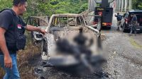 2 Pekerja Proyek Jembatan di Yahukimo Papua Dibunuh dan Dibakar KKB