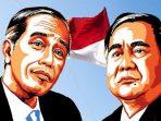 fakta fakta dibalik pertarungan capres Jokowi vs Prabowo