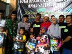 Santunan Anak yatim piatu dan buka bersama grup pemuda pucuk Community
