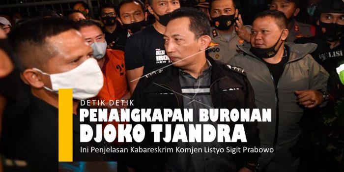 Video detik detik penangkapan buronan Kelas Kakap Djoko Tjandra