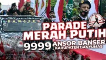 parade 9 ribu anggota banser di Banyumas sudah dapat izin dari Pemda