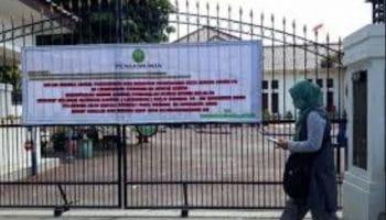 Panitera Pengadilan Terkonfirmasi Positif Covid, Kantor PN Kota Kediri Ditutup