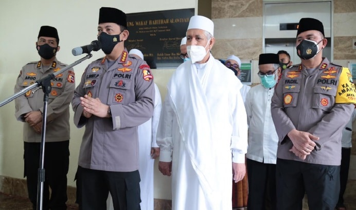 Berkunjung ke Rabithah Alawiyah Dalam Rangka Silaturrahmi, kapolri Ajak Sampaikan Pesan Kamtibmas