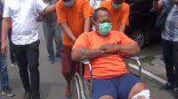 Rampok Sadis Penjarah Motor di Jalan Raya, Ndlosor Ditembak Polisi