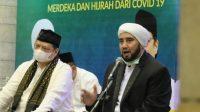 Hadiri Shalawat, Airlangga-Ulama Gemakan Doa Akhiri Pandemi Covid