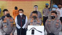 Komplotan Pencuri Minimarket Diringkus, Satu Orang Roboh Ditembak