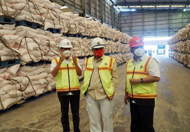 Kunjungi PT PIM, Wamentan Harvick Tinjau Kesiapan Produksi Pupuk