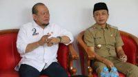 Wakil Bupati Rahmat Santoso meminta tambahan vaksin ke Ketua DPD RI