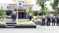 Kapolres Tuban Pimpin Apel Kesiapan Penanggulangan Bencana