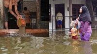 banjir bandang landa daerah