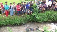 Dua Mayat Bertato Dibuang di Saluran Irigasi