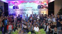Silaturahmi Forum Wartawan – Polres Kediri Peringati Hari Pers 2017