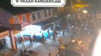 Video Viral Ricuh di Pasar Kandangan dan Gondanglegi Ini, Hoaks