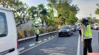 PPKM Level 3, Polisi masih perketat wilayah perbatasan Sidoarjo-Surabaya