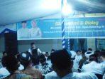 H.Iskandar Ajak Warga Pangkalanlampam Bangkitkan Semangat Gotong Royong