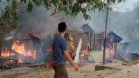 Pondok Pesantren Terbakar, Asrama Putri Ludes