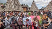 Sandiaga Uno Gandeng Atta Halilintar dan Aurel, Promosikan Rumah Adat