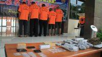 Gembong Narkoba di Karawang Dibekuk Polisi