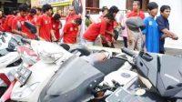 Tim Anti Bandit Polrestabes Surabaya Bekuk 45 Alap Alap Motor