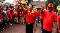 Kirab Barongsai, Walikota Serukan Kota Mojokerto Bhineka Tunggal Ika