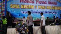 Wisuda SMA Dibubarkan Tim Satgas Covid 19 Kota Mojokerto